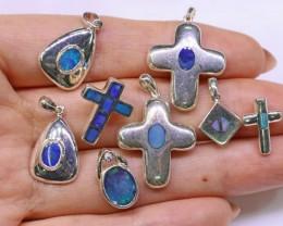 Parcel Deal below wholesale 8 opal pendants SB 326
