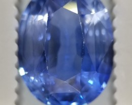 3.15 ct Sri Lankan/Ceylonese Untreated+Unheated Blue Sapphire BS5595