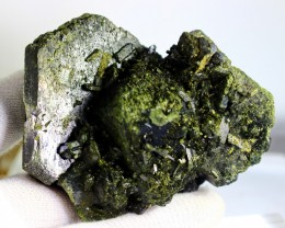 1553 CT Natural - Unheated Green Epidot Specimen