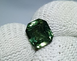 NO HEAT 1.66 CTS CERTIFIED RADIANT MIX NATURAL BEAUTIFUL GREEN SAPPHIRE CEY