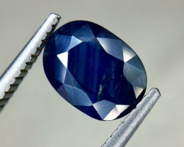 1.65 Crt Natural Sapphire Faceted Gemstone (AG 34)