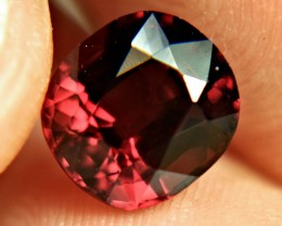 4.37 Carat Fiery Raspberry Red Rhodolite Garnet - Superb