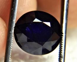 9.28 Carat Midnight Blue Sapphire - Gorgeous