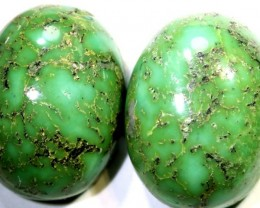 19.25-CTS TURQUOISE NATURAL  PAIR CABS  TBM-1468