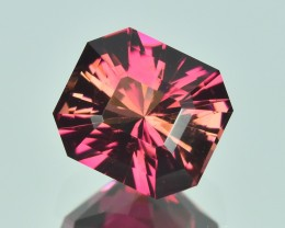 3.85 Cts Beautiful Custom Cut Natural Pink Tourmaline No Reserve