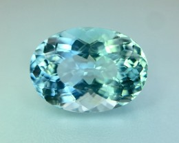 3.80 Cts  Aquamarine Awesome Luster and Cut ~Pv.2