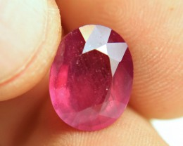 8.45 Carat Fiery Red Ruby - Superb