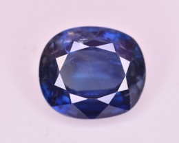 1.64 Ct GIL Certified  Brilliant Color Royal Blue Sapphire