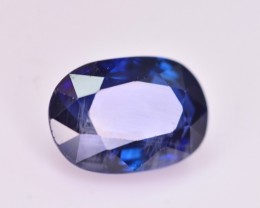 1.20 Ct GIL Certified  Gorgeous Color Natural Royal Blue Sapphire