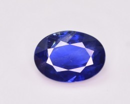 GIL Certified 1.08 Ct Dazzling Color Natural Royal Blue Sapphire
