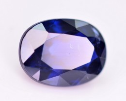 GIL Certified 1.05 Ct Ravishing Color Natural Royal Blue Sapphire