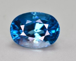 GIL CERTIFIED  6.84 CT TOP QUALITY BEAUTIFUL COLOR ZIRCON
