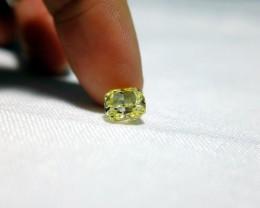 2ct fancy yellow cushion cut diamond