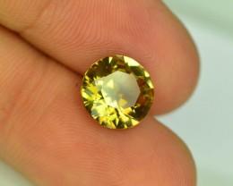 Rare 2.55 ct Natural Yellow Axinite