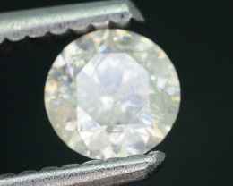 "Certified 0.51 ct Diamond Untreated ""H"" Color SKU 4"