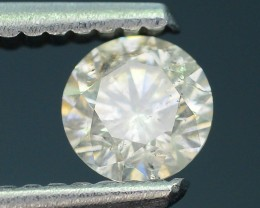 "Certified 0.50 ct Diamond Untreated ""K"" Color SKU 4"