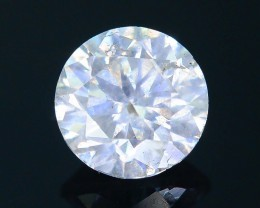 "Certified 0.49 ct Diamond Untreated ""G"" Color SKU 4"