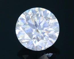 "Certified 0.49 ct Diamond Untreated ""G"" Color SKU 4"