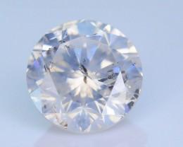 "Certified 0.50 ct Diamond Untreated ""G"" Color SKU 4"