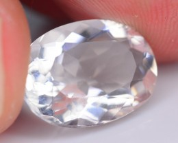 Certified 4.31 ct Analcime aka Analcite Extreme rare Fluorescent Afg SKU 1