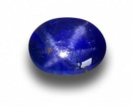 Natural Blue Star Sapphire|Loose Gemstone|New| Sri Lanka