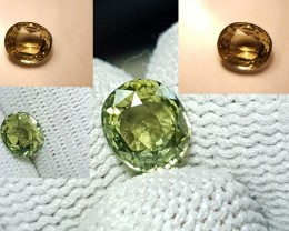 UNHEATED 1.06 CTS EXTREMELY RARE CERTIFIED VVS NATURAL ALEXANDRITE SRI LANK