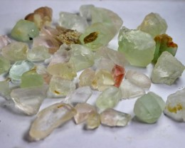 451  CT Natural - Unheated  Fluorite Rough Lot