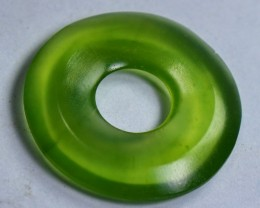 14 CT Natural - Unheated  GreenIt is Antigorite Serpentine, Carvings Dount