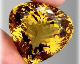 86.70ct Exceptional Cognac Citrine Master cut gem ~