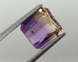 3.97 Carat VVS Ametrine - Spectacular Color and Clarity - Quality !