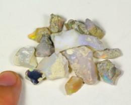 48.5Cts Ethiopian Welo Rough Opal Parcel Lot