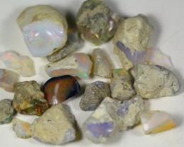 98.0Cts Ethiopian Welo Rough Opal Parcel Lot