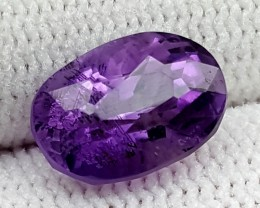 3.20CT NATURAL AMETHYST  BEST QUALITY GEMSTONE IGC494