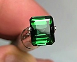 1.40 cts Green Tourmaline - Chrome Green Color