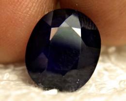 7.50 Carat Midnight Blue Sapphire - Gorgeous