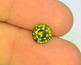 AAA Color 1.25 ct Chrome Sphene from Himalayan Range Skardu Pakistan