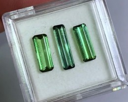 2.70 cts VVS Tourmaline Parcel - Emerald Green