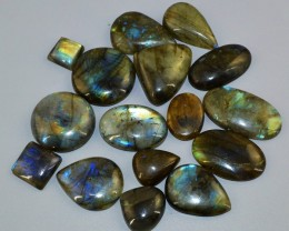Genuine 493.00 Cts Amazing Flash Labradorite Gemstone Lot