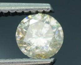 "Certified 0.65 ct Diamond Untreated ""K"" Color SKU 4"