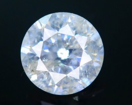 "Certified 0.55 ct Diamond Untreated ""H"" Color SKU 4"