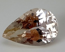 5.20 cts PEACH MORGANITE Best Grade Gemstones JI14