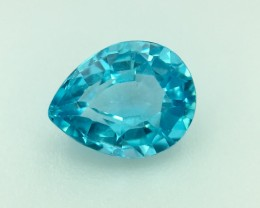 1.35 Cts Neon Blue Apatite ~ Insanity ~ Untreated Pv.3
