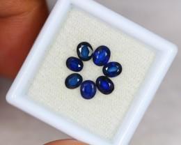 2.44ct Natural Blue Sapphire Oval Cut Lot GW2065