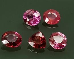 3.65 cts RHODOLITE GARNET Best Grade Gemstones JI14