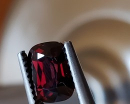 NO RESERVE - 2.19 CT Unheated Deep Red Mahenge Spinel $2600