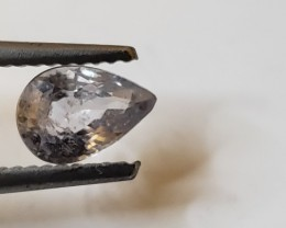 1 CT Unheated Colorless Sapphire (Tanzania)