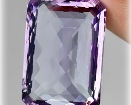 35.00ct Stunning Glittering Bolivian Amethyst VVS No Reserve