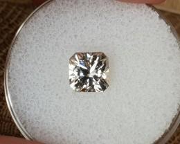 1,80ct White Zircon - Master cut!