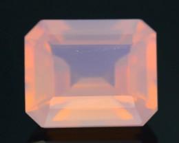Peruvian Pink Opal 1.87 ct AAA Rare Untreated/Unheated SKU.2