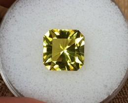 4,65ct Lemon quartz - Master cut!